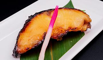 銀鱈の西京漬け焼き